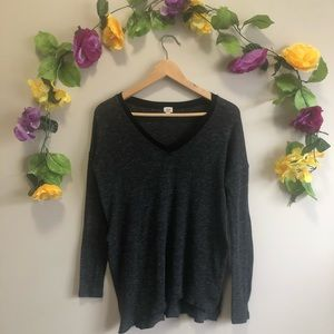 Aritzia Wilfred Gray / Black Sweater Size XXS